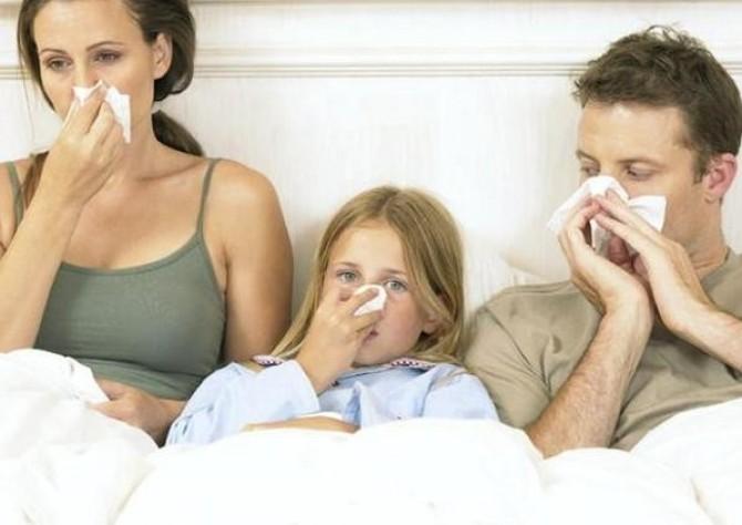 Простудные заболевания в семье